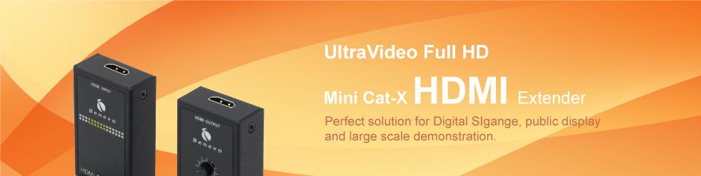 Cat-X HDMI Extender